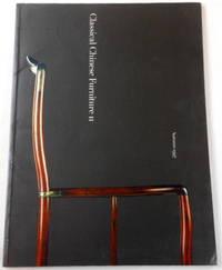 Classical Chinese Furniture II - Autumn 1997. MD Flacks Ltd Oriental Furniture & Art