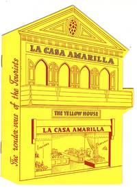 """Die Cut Tourist Catalog from The Yellow House La Casa Amarilla, Curacao """"The Shopping Center of the West Indies"""""""