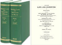Ancient Laws and Institutes of Wales; Comprising Laws Supposed to..