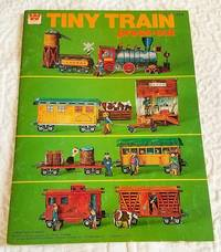 TINY TRAIN PRESS-OUT BOOK.