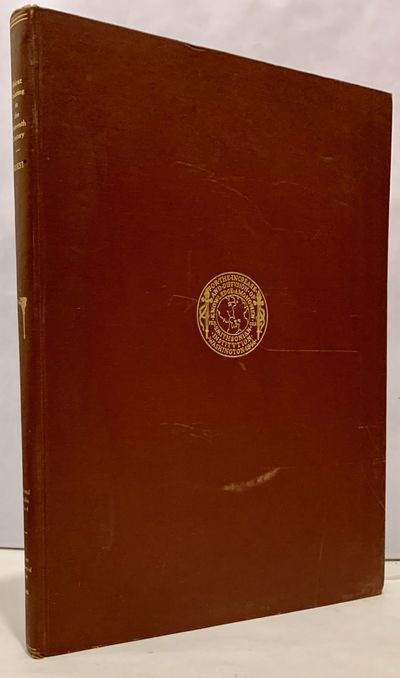 Washington, DC: Smithsonian Institution, 1949. First edition. Hardcover. Orig. brown cloth. Very goo...