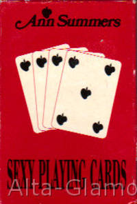 ANN SUMMERS SEXY PLAYING CARDS