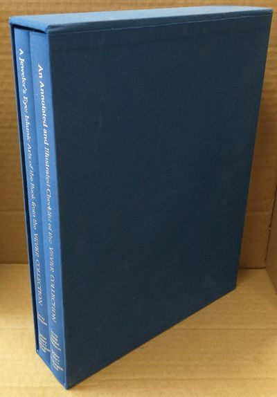Washington, DC: Arthur M. Sackler Gallery, 1988. First edition. Set of two folios in navy blue cloth...