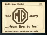 The MG Story: From First to Last