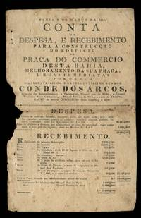 Expenditures, Receipts, and Contribution List for Building a New Commercial Exchange, Bahia, Brazil, 1817
