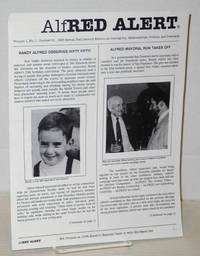 AlfRed Alert: special half-century edition on coming out, relationships, politics, and postcards; vol. 1, #1, October 21, 1995