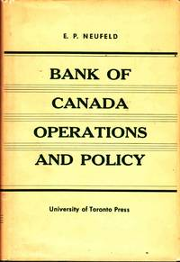 Bank of Canada Operations and Policy