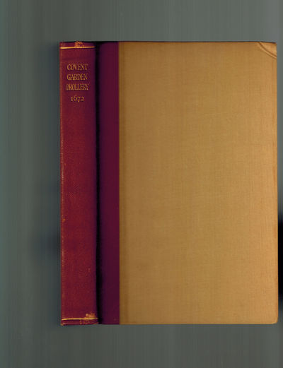 London: P. J. & A. E. Dobell, 1928. Number 50 of an edition of 400 copies printed, the first 50 copi...