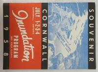 image of Souvenir Cornwall July 1-2-3-4 Inundation Program, 1958