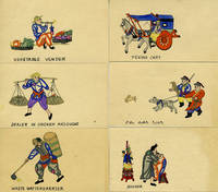 Chinese Hand Colored miniatures of trades and scenes by [China] - 1920 - from Antipodean Books, Maps & Prints and Biblio.com