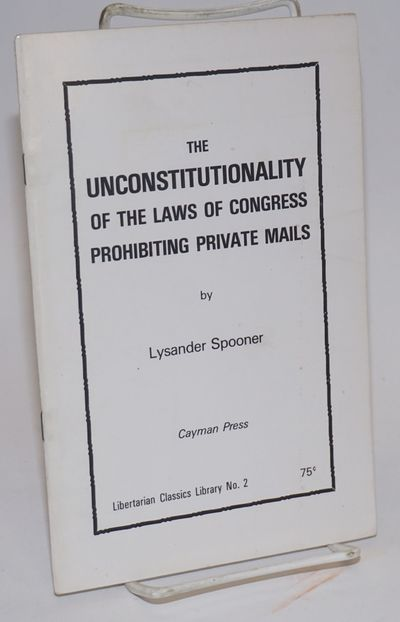 Cupertino, CA: Cayman Press, 1974. Pamphlet. 20p., wraps, very good condition, 5.5x8.5 inches. Liber...