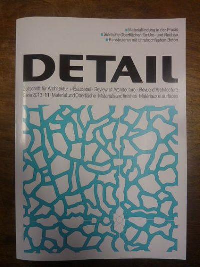 Detail zeitschrift f r architektur baudetail serie for Architektur und design zeitschrift