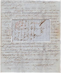 Privately carried stampless letter containing sequential messages from three Havana merchants to Boston lamenting the state of the White Sugar Market in Cuba