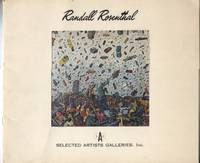 Randall Rosenthal; Paintings by Art Exhibition Catalog - Paperback - First edition - 1974 - from ANTHOLOGY BOOKSELLERS (SKU: 20877)