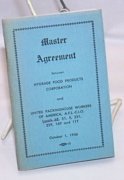: United Packinghouse Workers of America, 1956. Pamphlet. 69p., staplebound booklet, very good but f...