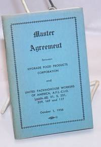image of Master agreement between Hygrade Food Products Corporation and the United Packinghouse Workers of America, AFL-CIO, Locals 69, 51, 5, 231, 329, 169, and 117