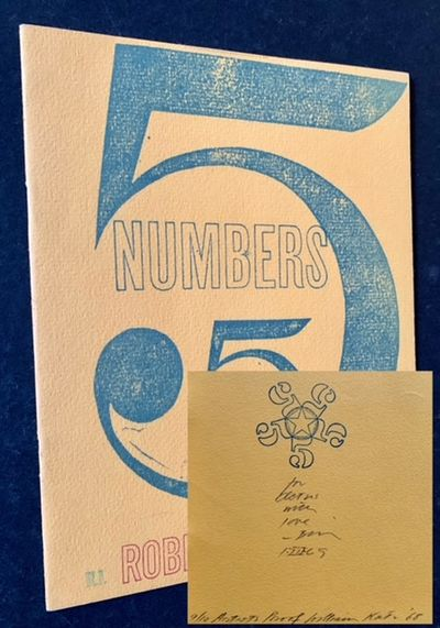 New York: The Poet's Press, 1968. Pictorial wrappers. Near Fine. #9 OF 10 ARTIST PROOF COPIES AND, A...
