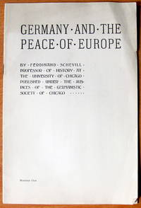 Germany and the Peace of Europe