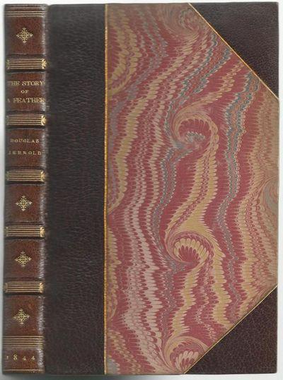 London: The Punch Office, 1844. First Edition. Three Quarter Leather. Very Good. Leech, John. xi, 25...