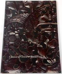 Classical Chinese Furniture IV - Spring 2001. MD Flacks Ltd Oriental Furniture & Art