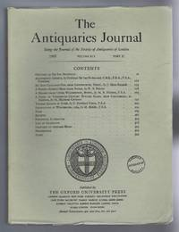 The Antiquaries Journal, Being the Journal of The Society of Antiquaries of London, Volume XLV, 1965, Part II