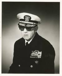 Original portrait photograph of John Ford in uniform, circa 1957