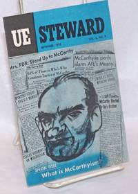 UE Steward. Vol. 6, No. 9, September 1953; Special Issue: What is McCarthyism
