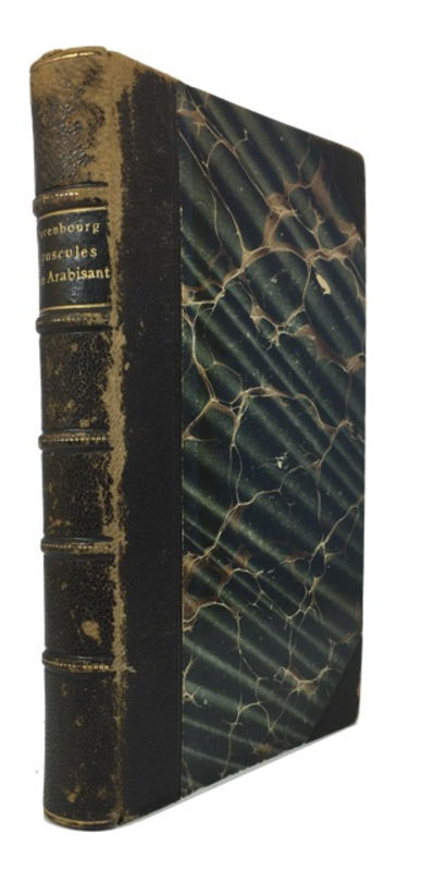 Paris: Charles Carrington, 1905. Hardcover. Good. 336p. Contemporary 1/2 leather. 22cm. Covers rubbe...