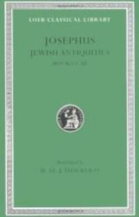 Josephus: Jewish Antiquities (Books 1-3)