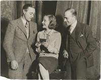 image of Original photograph of Tallulah Bankhead rehearsing a vaudeville sketch, 1929