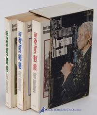 image of Carl Sandburg's Abraham Lincoln (3-volume mass-market paperback set in  slipcase)