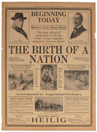 "The Birth of a Nation.  Adapted From Thomas Dixon's Story ""The Clansman.""  A Historical Drama of the Reconstruction Period.  The Sunday Oregonian, Portland, August 29, 1915."