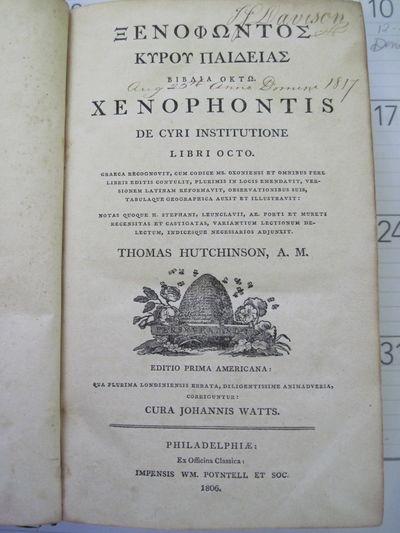 [GREEK] XENOPHONTIS. DE CYRI...