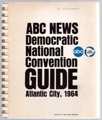 ABC News Democratic National Convention Guide Atlantic City, 1964