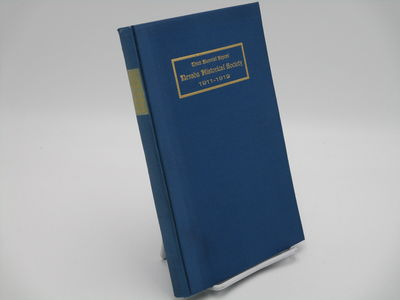 Carson City.: State Printing Office., 1913 . Blue cloth, gilt titles.. Near fine, no dust jacket as ...