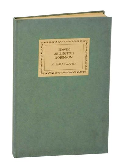Cambridge, MA: The Dunster House Bookshop, 1931. First edition. Hardcover. 59 pages. Number 116 from...