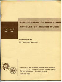 Bibliography of Books and Articles on Jewish Music