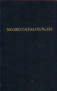 The Negro in America and Africa (Black Literature Catalog #121)
