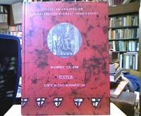 Hester : Eine poetische Paraphrase des Buches Esther aus dem Ordensland Preußen. Edition...