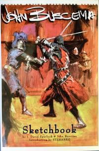 JOHN BUSCEMA SKETCHBOOK (Signed & Numbered Ltd. Hardcover Edition)