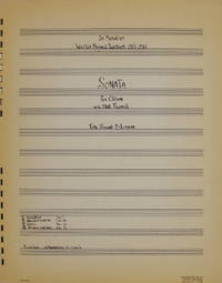 SONATA FOR ORGAN WITH STATE TRUMPETS : IN MEMORIAM WILFRID MEYNELL ZOGBAUM 1915-1965 [manuscript title]