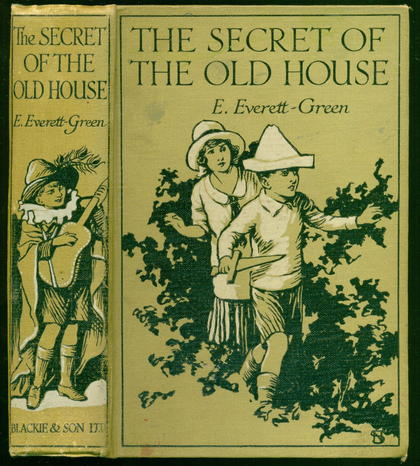 The secret of the old house a story for children by for Classic house books