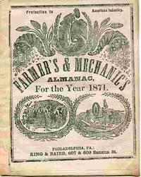 Farmer's & Mechanic's Almanac, For The Year 1871