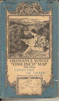 """Ordnance Survey """"One Inch"""" Land's End and Lizard.  Fifth Edition.  Sheet 146."""
