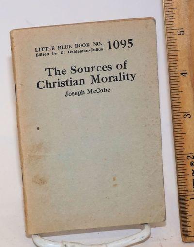 Girard, KS: Haldeman-Julius Publications, 1926. 64p., wraps mildly worn, paper browned, 5.25x8.25 in...