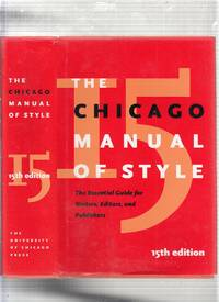 image of The Chicago Manual of Style (15th Edition)
