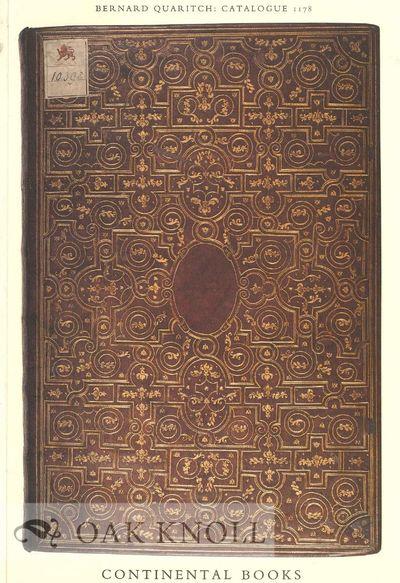 (London, England): Bernard Quaritch, n.d.. stiff paper wrappers. Quaritch, Bernard. 4to. stiff paper...