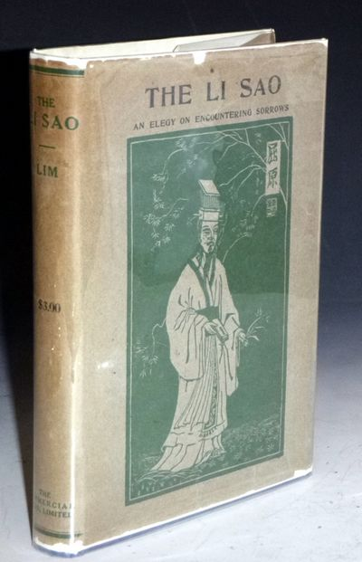 Shanghai: Commercial Press, 1935. Octavo. XI, 225 Pages, 4 leaves of plates; illustrations, facsmile...
