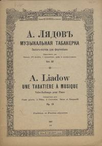 [Op. 32]. Tabatière à musique ... [Score and parts] Valse-Badinage pour piano ... Op. 32. Arrangement pour flauto piccolo, 2 flûtes, 3 clarinettes, harpe et campanelli par l'auteur