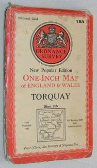 Torquay. Sheet 188 One-Inch Map of England & Wales, New Popular Edition